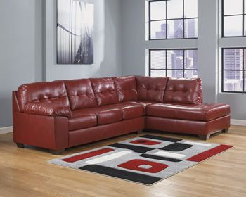 Ashley Furniture 201 Sectional W/Chaise Available In Several Colors Sale  Price $699.95 Suggested Retail. Living Room ...