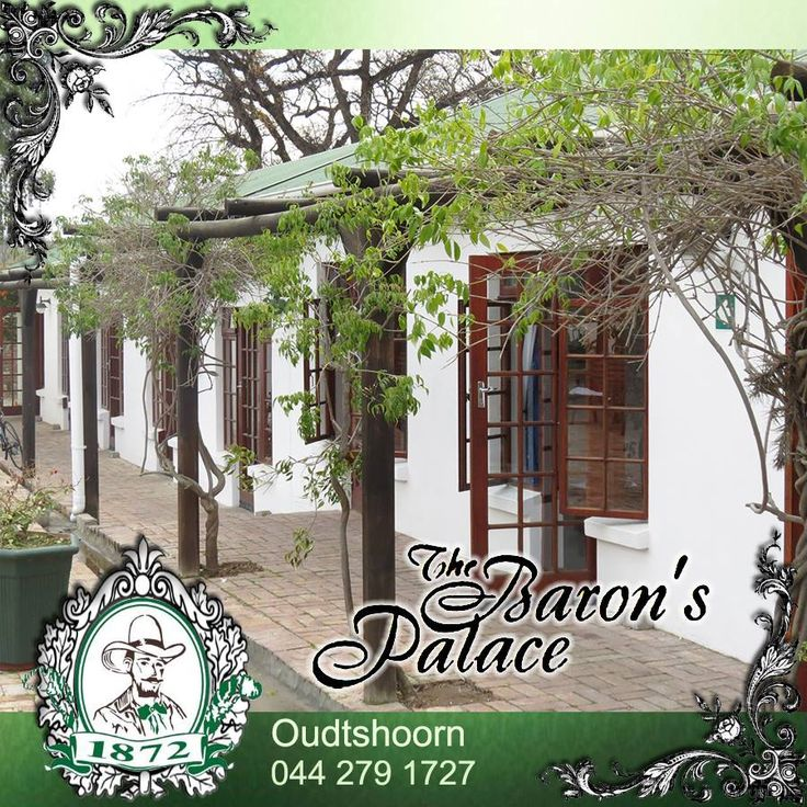 Baron's Palace caters for a variety of accommodation needs and our cottage type rooms situated on the ground floor and in close proximity of each other make these ideal for large groups or business tours. Contact us for more information or to make your group booking. #accomodation ##venue #oudtshoorn
