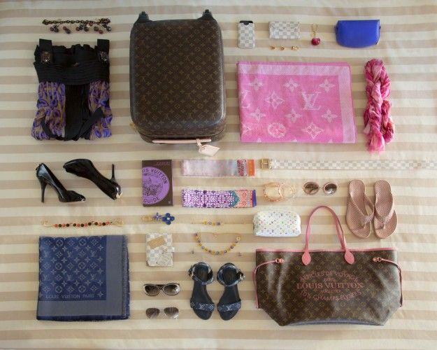 L'arte di fare la valigia con Louis Vuitton