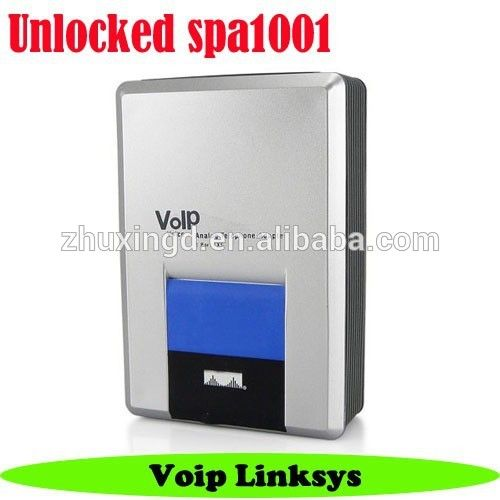 """""""Unlocked Linksys Spa1001 1 FXS Voip ata, Voip Phone Adapter SIP"""""""