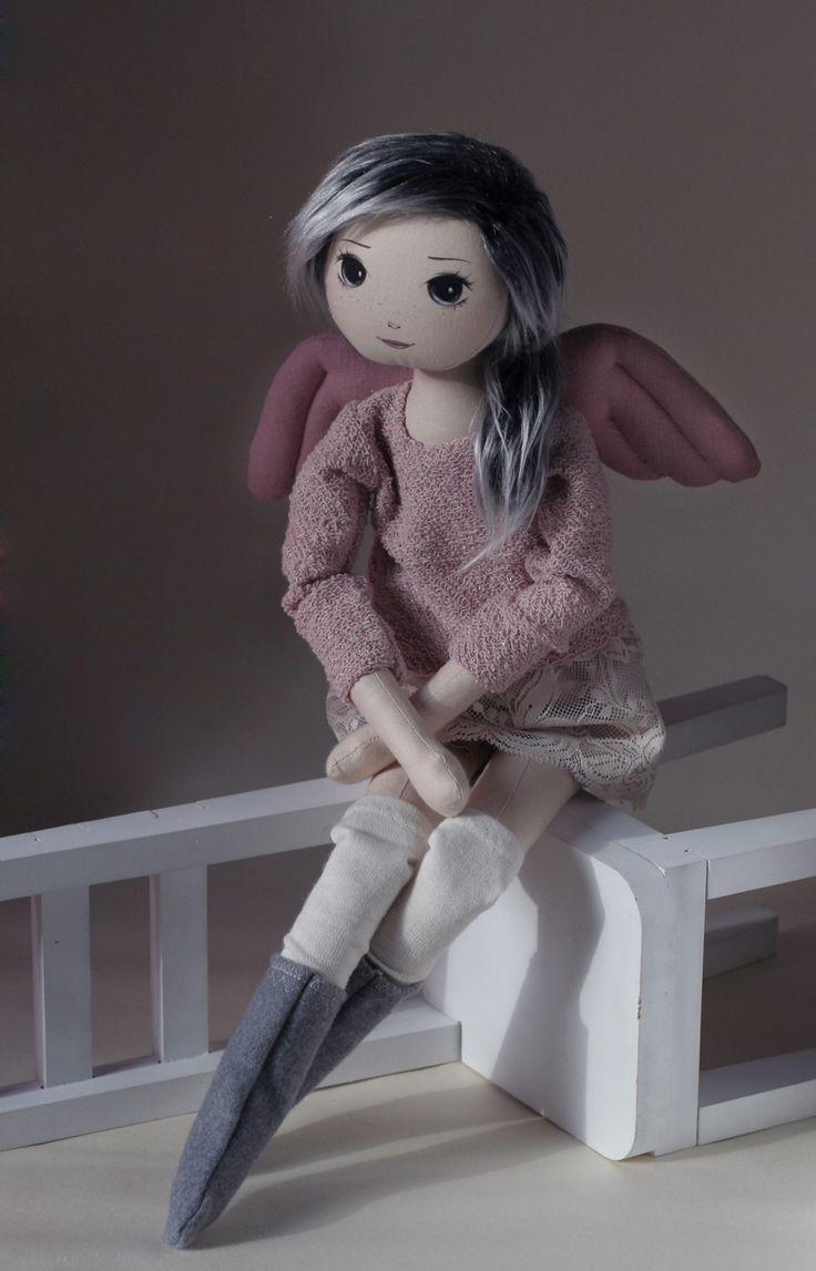 Amila – roma anielska, handmade doll by romaszop