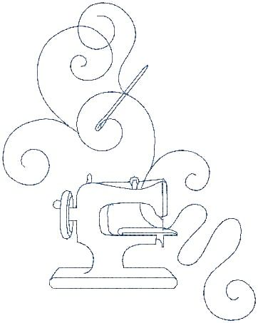 sewing machine  .....  or I could see this with a pin cushion