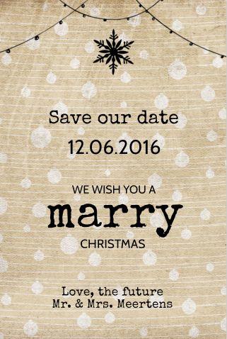 #kerst #kaart #kerstkaart #fuif #merry #christmas #save #the #date #savethedate…