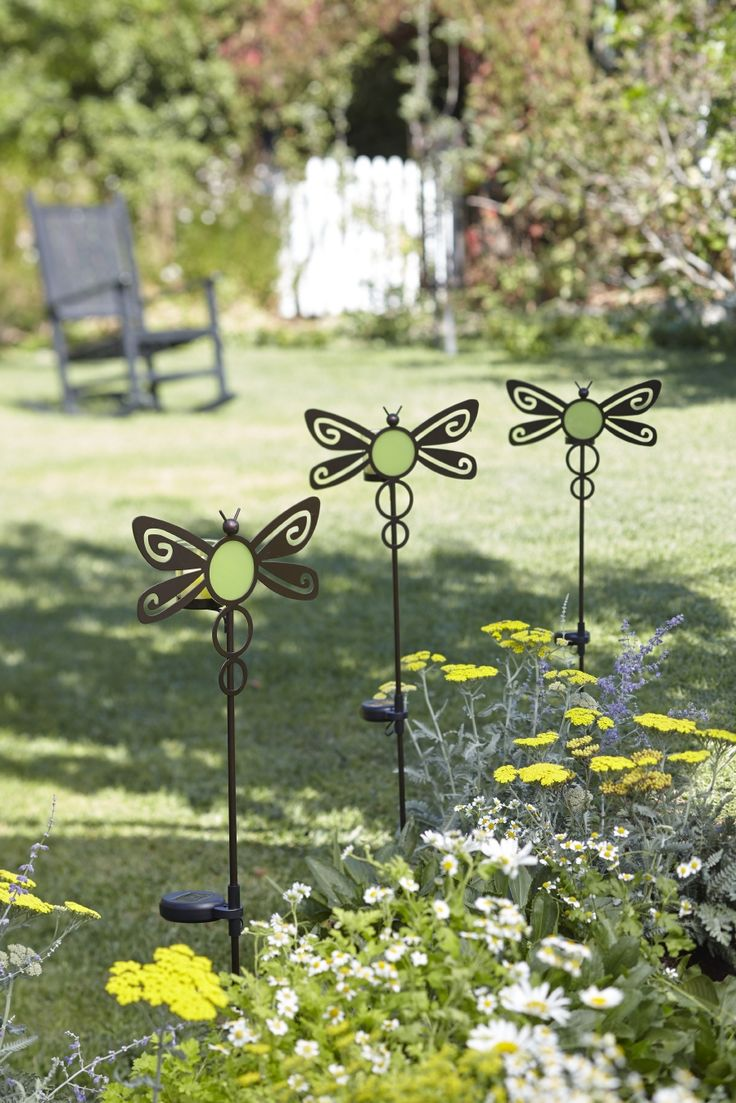 Candlelit Critters, part of PartyLite's solar-powered outdoor decor range