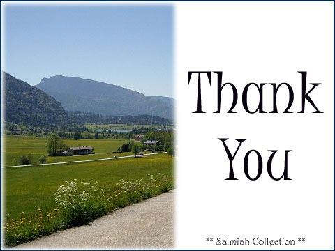 Salmiah Collection: Thank You Card 26