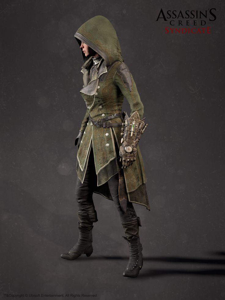 ArtStation - Assassin's Creed Syndicate - Lydia Frye Suit, Hugues Thibodeau