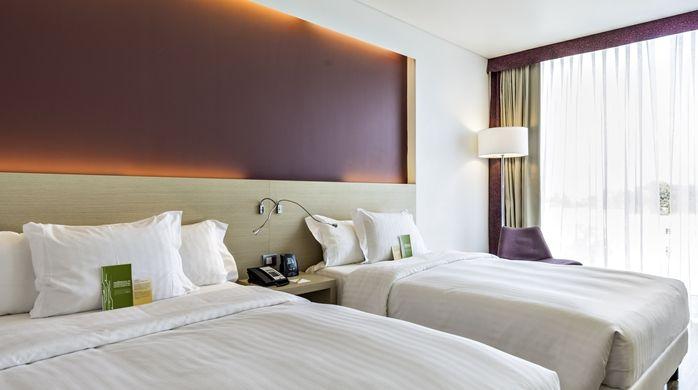 Hilton Garden Inn Venice Mestre San Giuliano hotel, Italy - 2 Queen Beds Evolution Superior Room