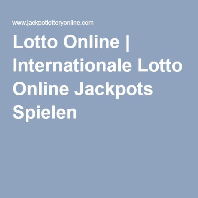 Lotto Online   Internationale Lotto Online Jackpots Spielen
