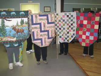 Wheelchair lap quilt Instructions - Sackville Threaders Quilting Guild