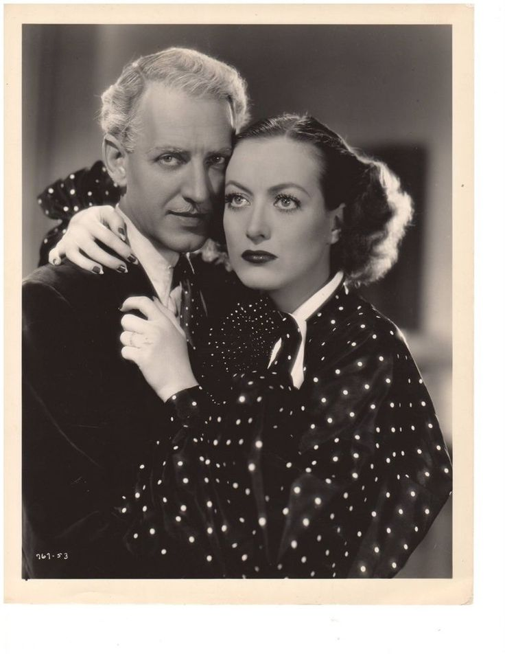 "Joan Crawford and Otto Krueger in ""CHAINED"" (1934)  8x10 photograph C164"