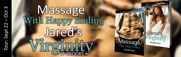 BookLover Sue: Spotlight & Giveaway - Massage With Happy Ending & Jared's Virginity by JB Brooks