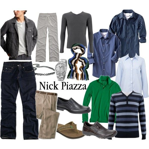 Fame - Nick Piazza by alicelowndes on Polyvore featuring Miss Selfridge, Fantasy Jewelry Box, Paul Smith, James Perse, Gap, Old Navy, J.Crew, sanuk, Roberto Cavalli and fame
