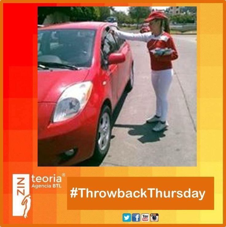#TBT #ThrowbackThursday  Activación para Casas Javer  #volanteo #Marketing
