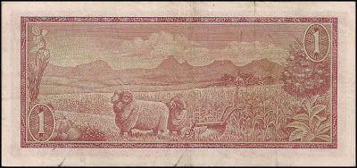 África do Sul, 1 Rand de 1975, pick#115c