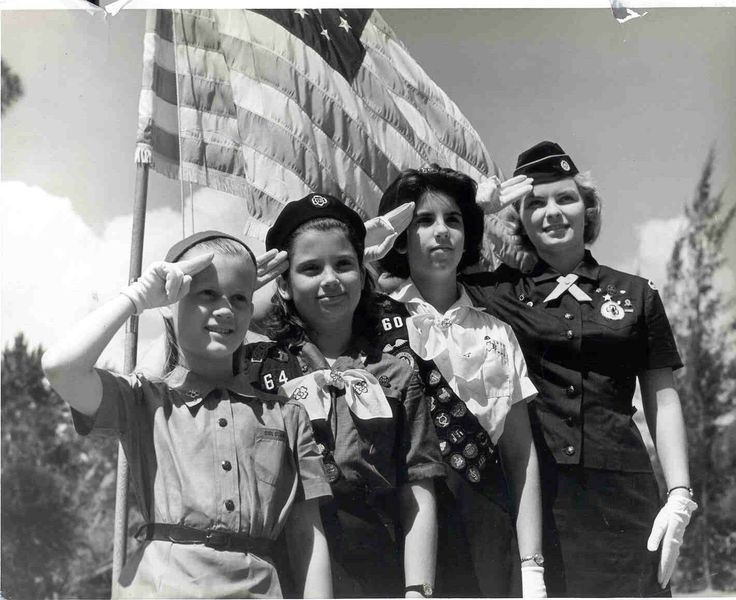 Girl Scout pride is running high this #ThrowbackThursday