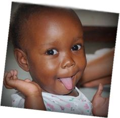 Sonrise Baby Home--one of their adorable babies! Giving lost children a second chance at life