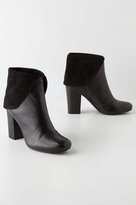 Inlaid Ankle Boots