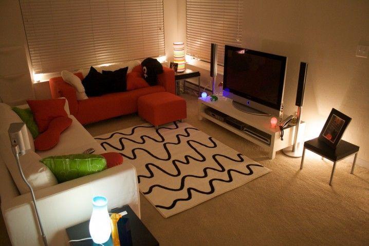 small & simple living room decor