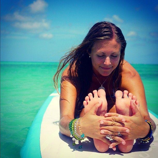 The Down Low on SUP Yoga Queen Rachel Brathen (aka yoga_girl).