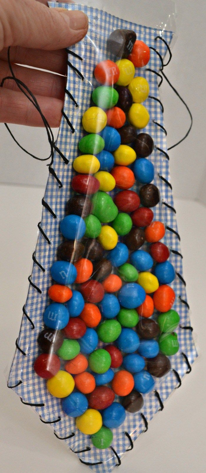 Father's Day Candy Tie Printable Craft