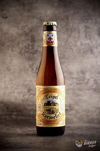 L'anecdote veut qu'elle ait été élaborée à partir d'une recette des moines carmélites de Dendermonde au XVIIe siècle, d'où son nom de Tripel Karmeliet.