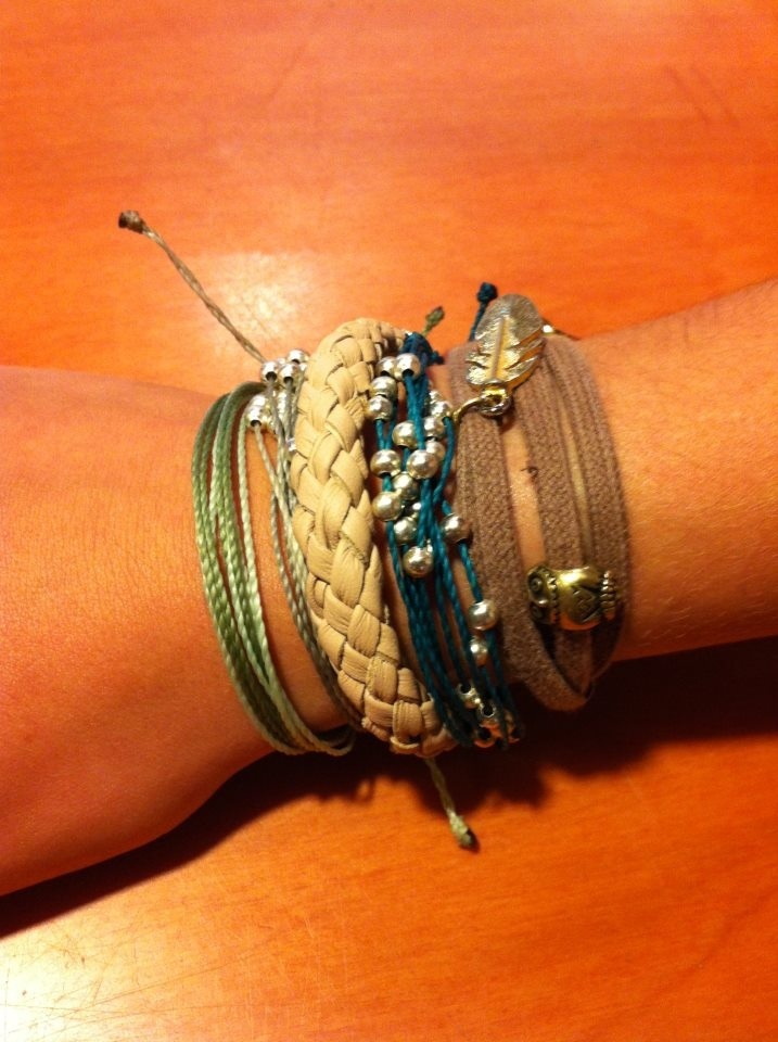 Finding unique ways to display bracelets!
