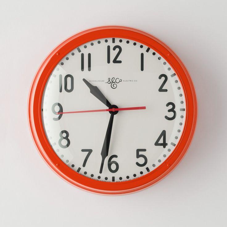 Schoolhouse Electric Clock