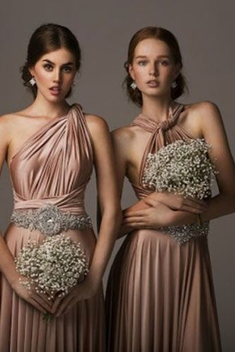 bronze bridesmaid| bronze wedding | TOP BRIDESMAID DRESSES: http://999dresses.blogspot.com/