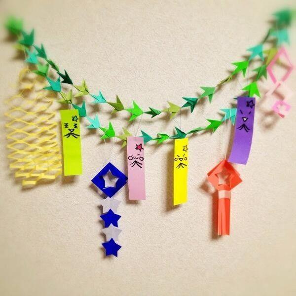 おしゃれで簡単!七夕飾り~ 折り紙で笹が無くても笹つづりを作ってみませんか? | | お役立ち!季節の耳より情報局