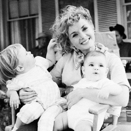 Debbie from El Paso ~ Debbie Reynolds & her kids, Carrie & Todd   via Texas Chic ~ Cityhaüs Design