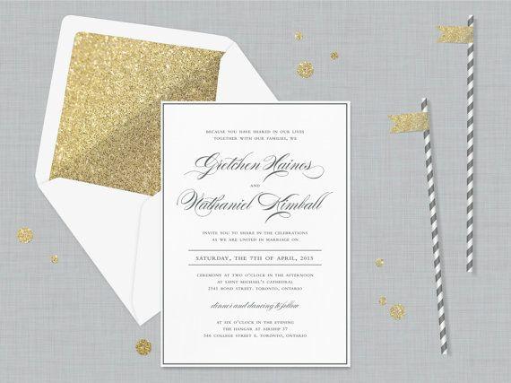 Wedding Invitation Formal: 25+ Best Formal Invitations Ideas On Pinterest
