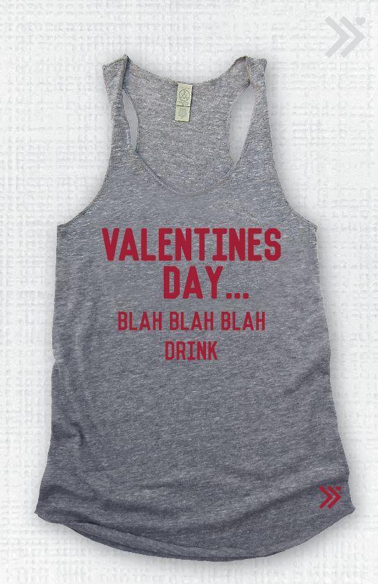 Anti Valentines Day  EcoTank top