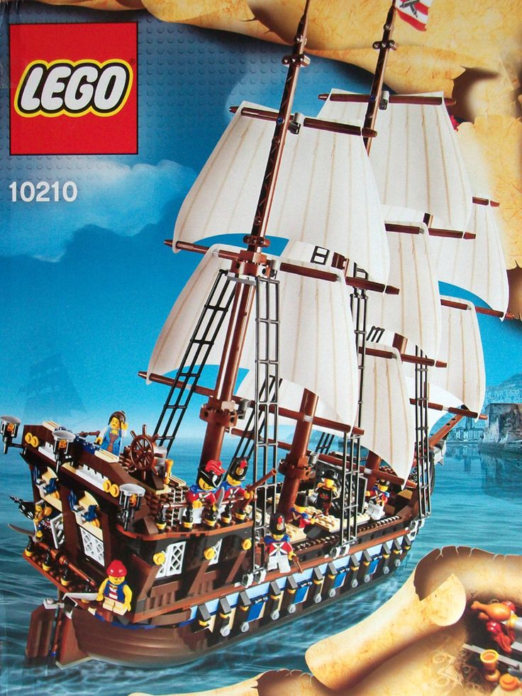 how to build a lego ship step by step