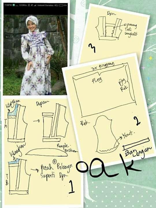 Hijaber dress (gamis)
