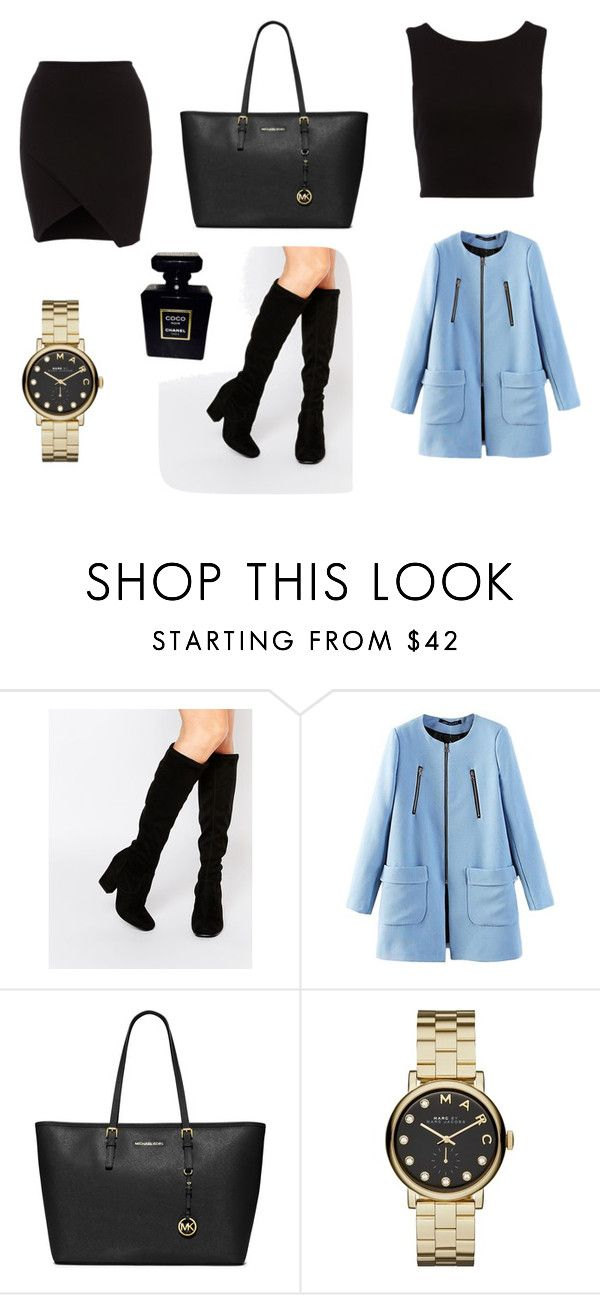 """""""outfit #2"""" by mariachun on Polyvore featuring Faith, MICHAEL Michael Kors, Marc by Marc Jacobs and Chanel"""
