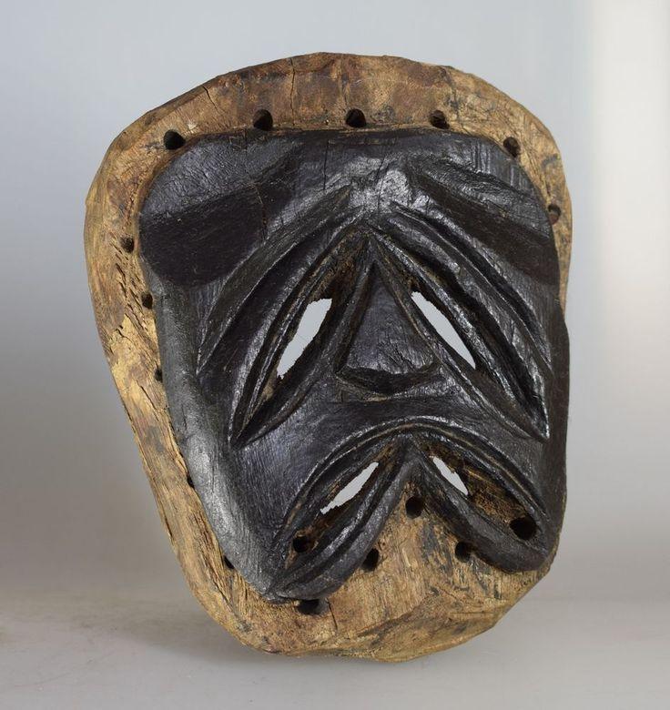 Chewa Nyau Mask - Zambia - Katete District