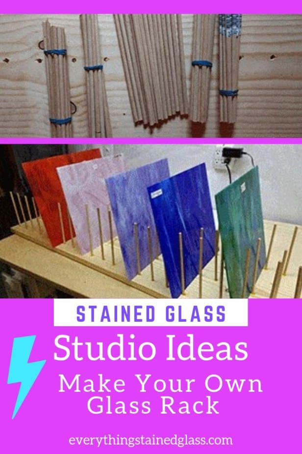 Stained Glass Studio Spaces And Ideas For Making Cheap Tools Stained Glass Studio Stained Glass Diy Stained Glass Grinder