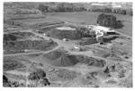 View of quarry from Mt Wellington, 1964.   University of Auckland