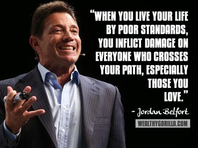 Jordan Belfort Inspirational Quote