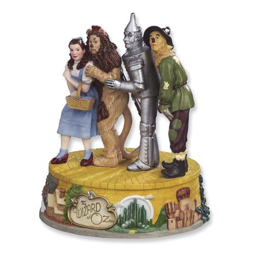 Vintage Wizard of Oz Collectibles | Four Characters Musical Figurine from Wizard of Oz