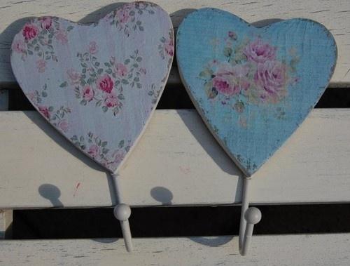 Vintage Floral Heart Hooks Ebay Uk Fashion Trends