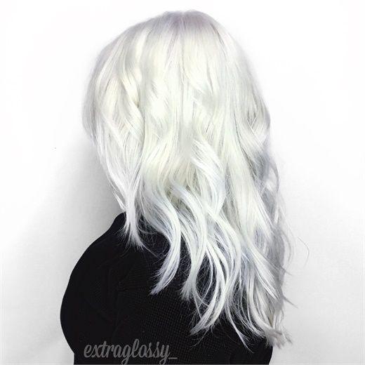 white hair colors ideas