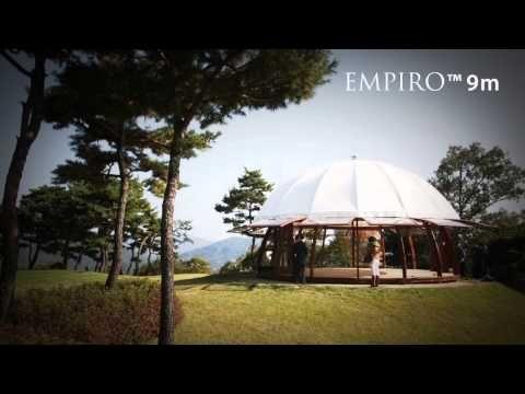 EMPIRO PAVILIONS - YouTube  #empiro #empirocz #woodenhouse #roundhouse #arena #pavilion #modernarchitecture