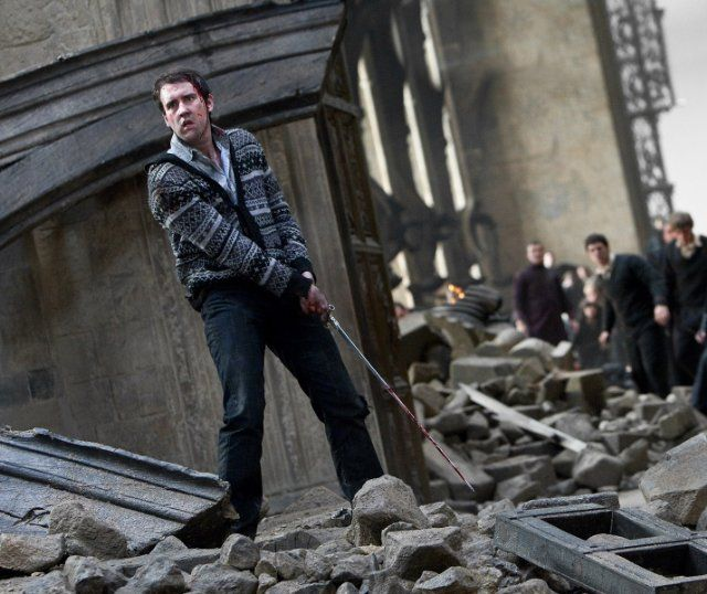 Neville Longbottom takes a stand in the battle against Voldemort and his evil army!--Harry Potter and the Deathly Hallows: Part 2.
