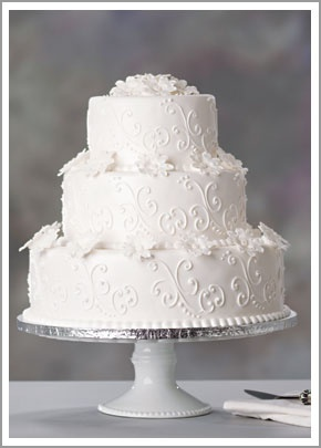 "Wonderful White | Cake 2  simple elegance    Simply elegant three-tier white cak…  – Cup ""Cake"" Obsession"