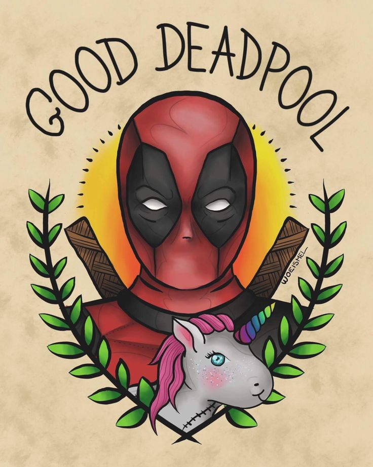 #Deadpool #Fan #Art. (Marvel Fan Art Magic Deadpool) By: Woeismeldraws. ÅWESOMENESS!!!™ ÅÅÅ+