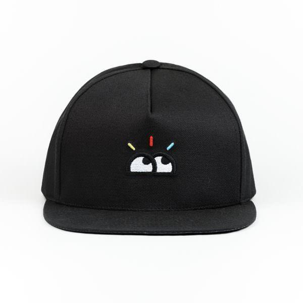 Casquette Visionnaire Yeux Black Cap Bigflo et Oli