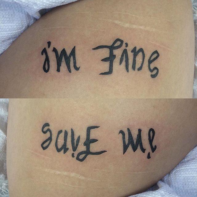 Ambigram Tattoo | Best Design Tattoo
