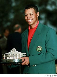 Tiger Tiger Tiger Woods Yall. The Master's jacket is fly!