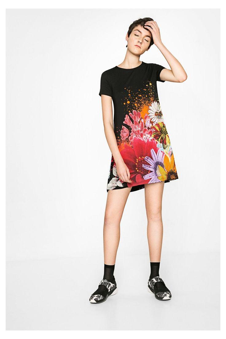 Desigual černé šaty Mc Dress Luka